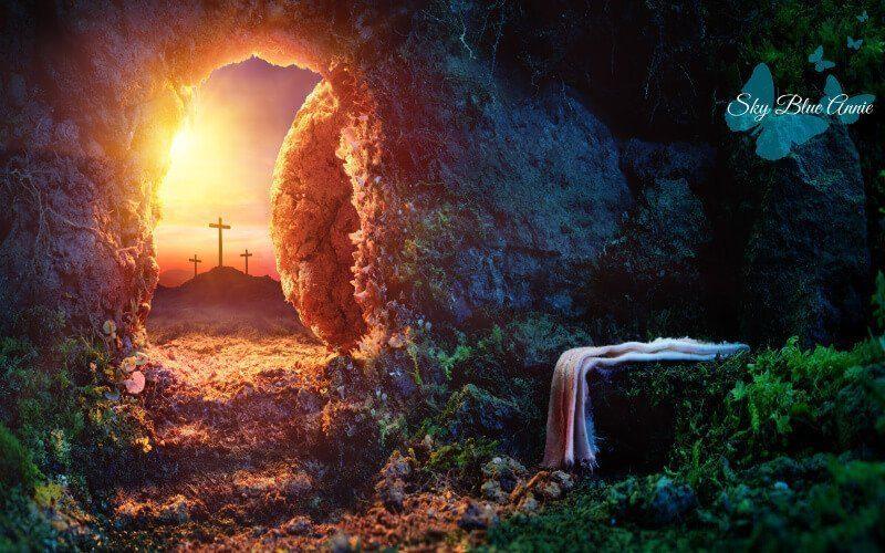 Empty Tomb at Sunrise