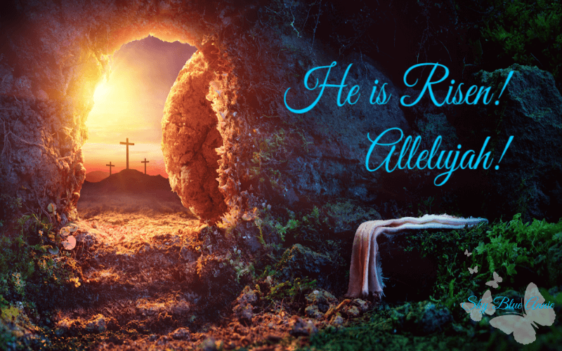 Empty tomb at Sunrise - HE IS RISEN!