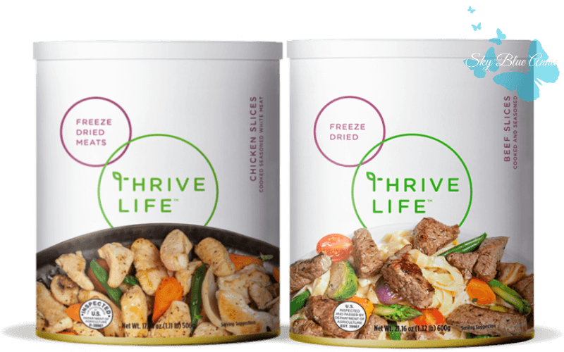 THRIVE Beef Slices and Chicken Slices